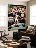 Marvel Comics Retro: Silver Surfer Comic Book Cover No1  Origin (aged)