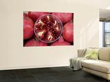 Pomegranates in Carmel St Market