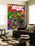 Heroes For Hire 1 Cover: Cage  Luke  Iron Fist  Hulk and Black Knight