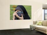Iranian Girl with Camera