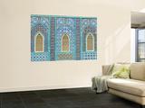 Tiling around Shuttered Windows  Shrine of Hazrat Ali