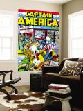 Captain America Comics No1 Cover: Captain America  Hitler and Adolf