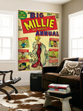 Marvel Comics Retro: Millie the Model Comic Book Cover No1  the Big Annual (aged)