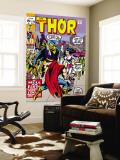 Thor No179 Cover: Thor  Balder and Sif