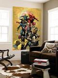 New Avengers No34 Cover: Cage  Luke  Wolverine  Captain America and Daredevil