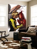 X-Men: First Class 7 Cover: Angel and Scarlet Witch