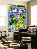 New Mutants Annual 3 Cover: Impossible Man and Warlock