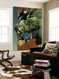 Ultimate Wolverine vs Hulk No4 Cover: Wolverine  Hulk and She-Hulk