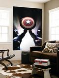 Captain America Reborn: Who will weild the shield Cover: Captain America