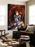Secret Invasion: Inhumans No4 Cover: Black Bolt and Medusa
