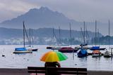 Umbrella On Lake Lucerne