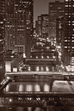 Chicago Bridges BW