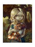 Alice in a Da Vinci Portrait