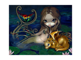 Mermaid with a Golden Dragon