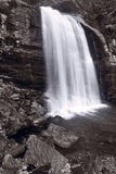 Looking Glass Falls North Carolina BW