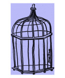 Birdcage in Purple