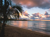 Sunset  Vacia Talega Beach  Puerto Rico