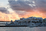 Hamilton Harbor Sunset  Bermuda