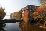 Autumn Morning at the Kingston Mill  New Jersey