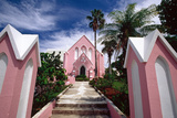 Pink Church  Hamilton  Bermuda