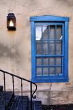 Blue Window  Santa Fe  New Mexico