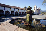 Fountain of Mission Santa Barbara
