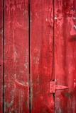 Hinge on a Red Barn
