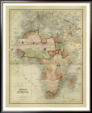 Antique Map of Africa