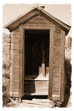 Old Outhouse  Bodie Ghost Town  California