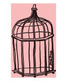 Birdcage in Pink