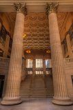 Chicagos Union Station Entry