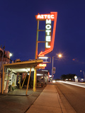 Aztec Motel Neon Sign  Rt 66  Albuqurque  NM