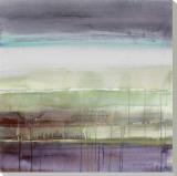 Purple Rain I Tableau sur toile par Lanie Loreth