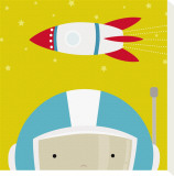 Peek-a-Boo Heroes: Astronaut