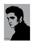 Elvis Presley (Metallic)