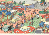 Tintin and the Red Sea Sharks: Car Rally