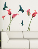 Humming Birds Wall Decal Sticker