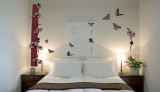 Butterfly Design Wall Decal Sticker