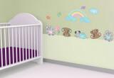 Nursery Rainbow Wall Decal Sticker