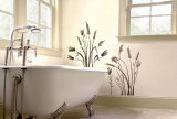 Cattails Wall Decal Sticker