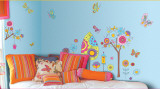 Fantasy Garden Wall Decal Sticker