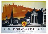 Edinburgh  It's Quicker by Rail
