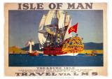 Isle of Man  Treasure Isle  LMS  c1923-1947