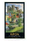 Ripon Black Frame