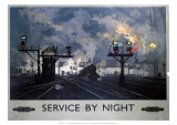 Service by Night  BR  c1955