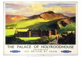 The Palace of Holyroodhouse  British Railways  c1955