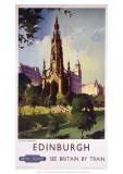 Edinburgh: The Scott Monument  BR  c1950s