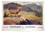 Scotland for Holidays Giclée