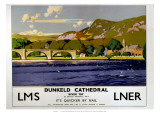 Dunkeld Cathedral  River Tay  LMS/LNER  c1923-1947