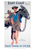 East Coast Types  No 6  The Donkey Boy  LNER  c1923-1947